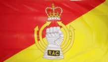 BRITISH ROYAL ARMOURED CORPS - 5 X 3 FLAG